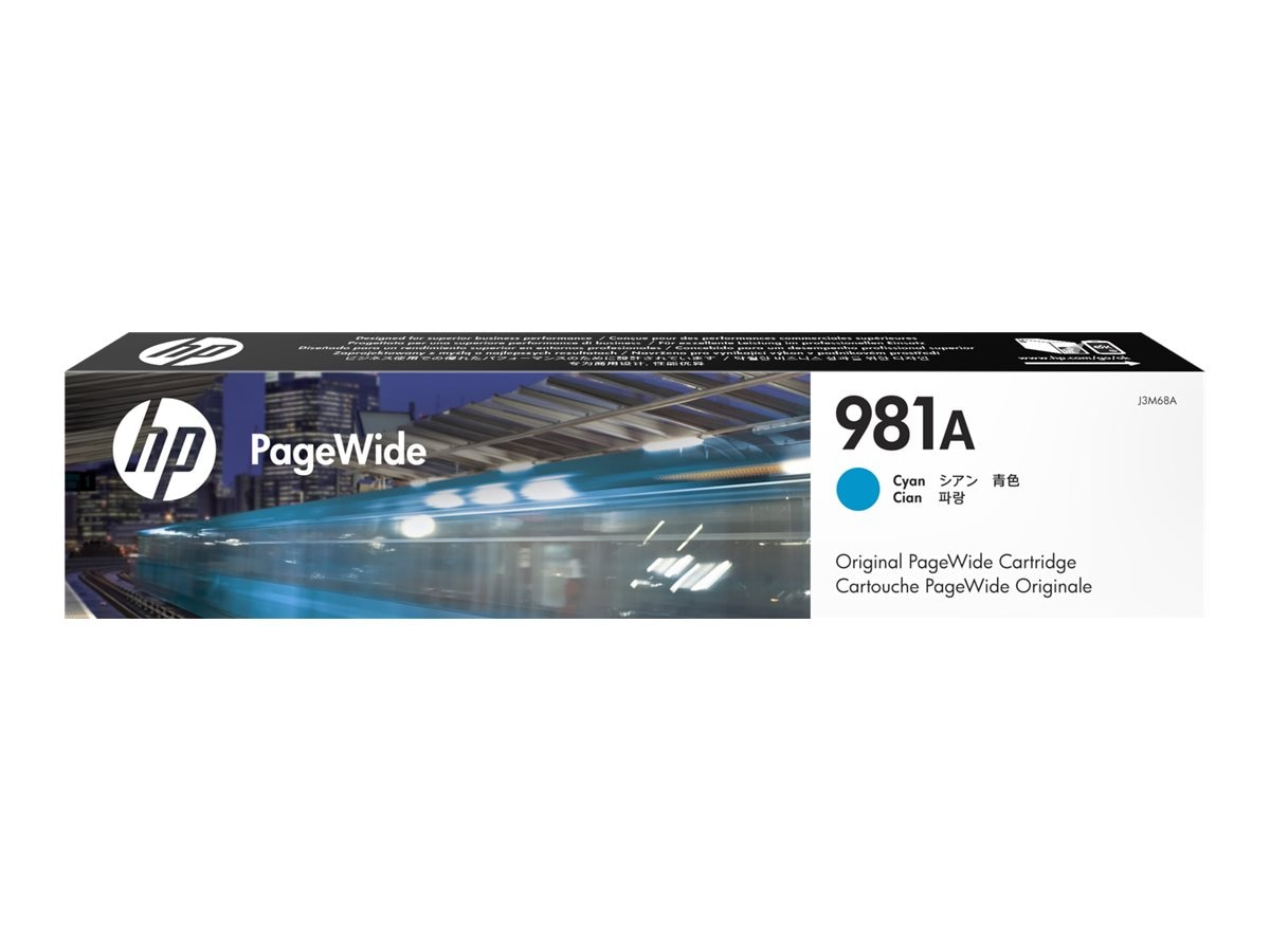 HP 981A (J3M68A) Cyan Original PageWide Cartridge