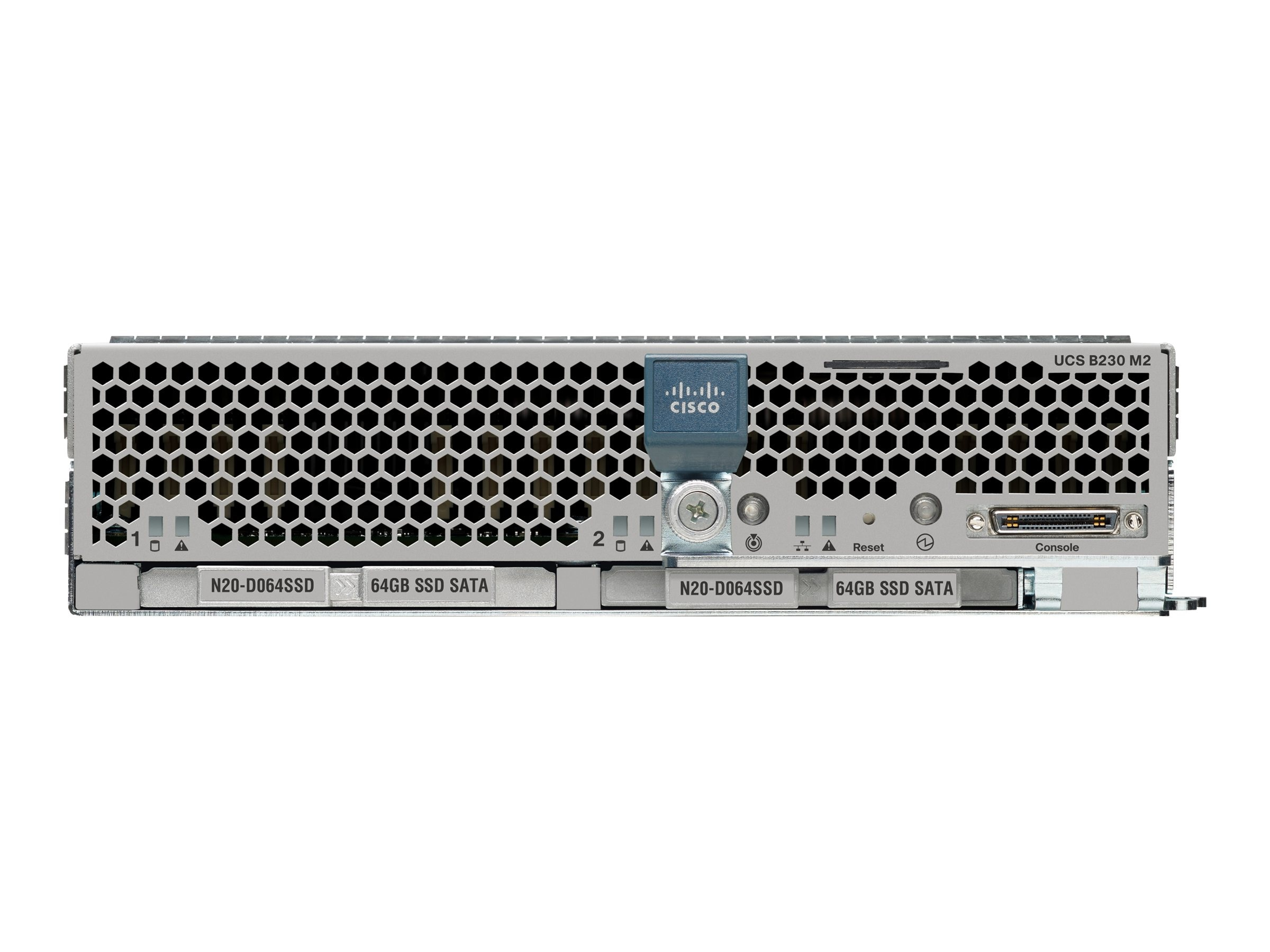 Cisco UCS B230 M2 SmartPlay Expansion Pack Blade (2x) Xeon 10C E7-2860 2.26GHz 128GB VIC1280, UCS-EZ7-B230-EX128