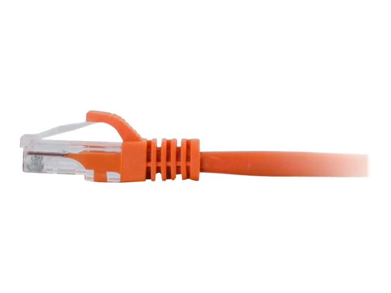 C2G Cat6 Snagless Unshielded (UTP) Network Patch Cable - Orange, 15ft, 04022, 15325975, Cables