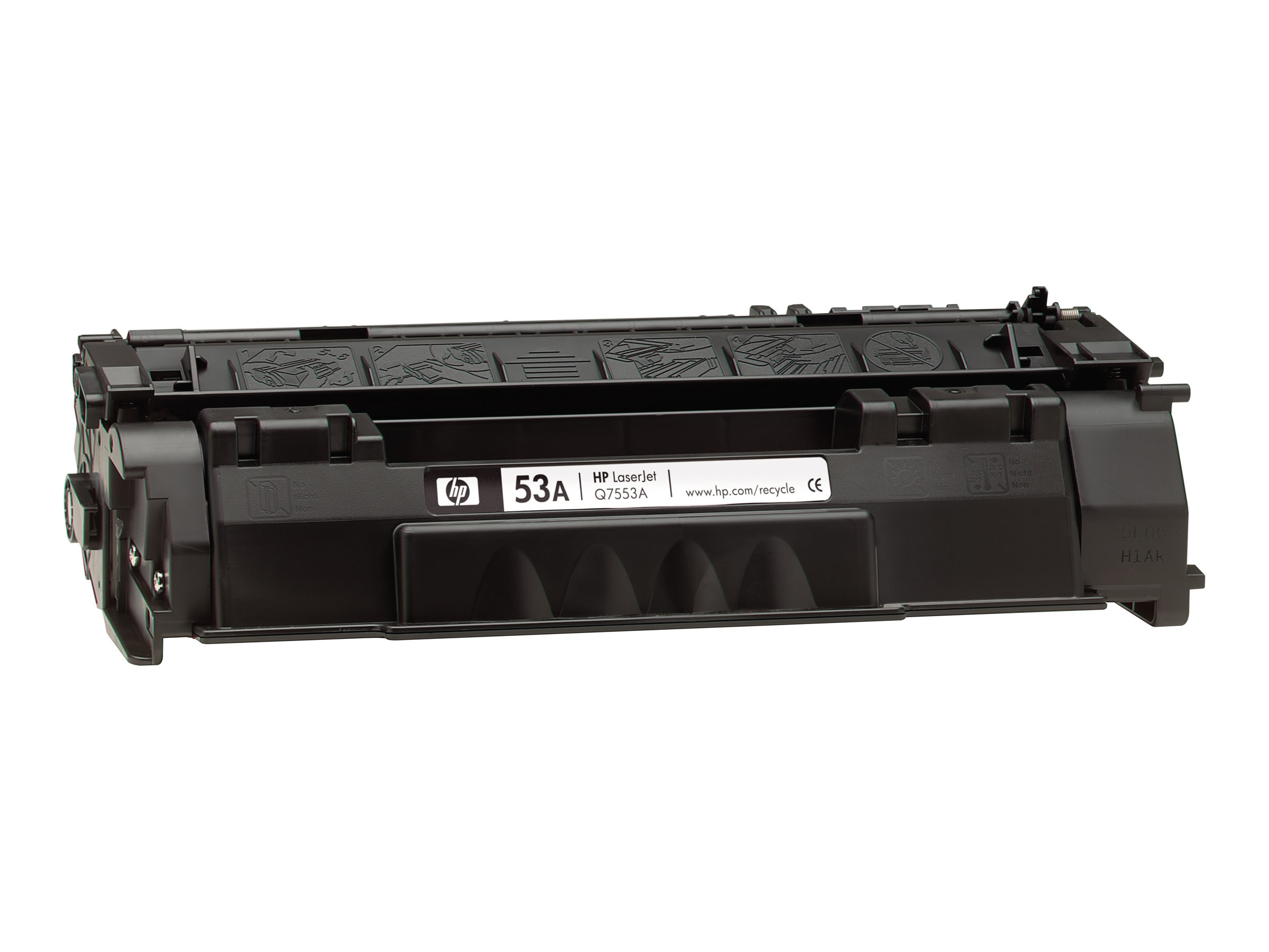 HP 53A (Q7553A) Black Original LaserJet Toner Cartridge for HP LaserJet P2015 & M2727nf (TAA Compliant)