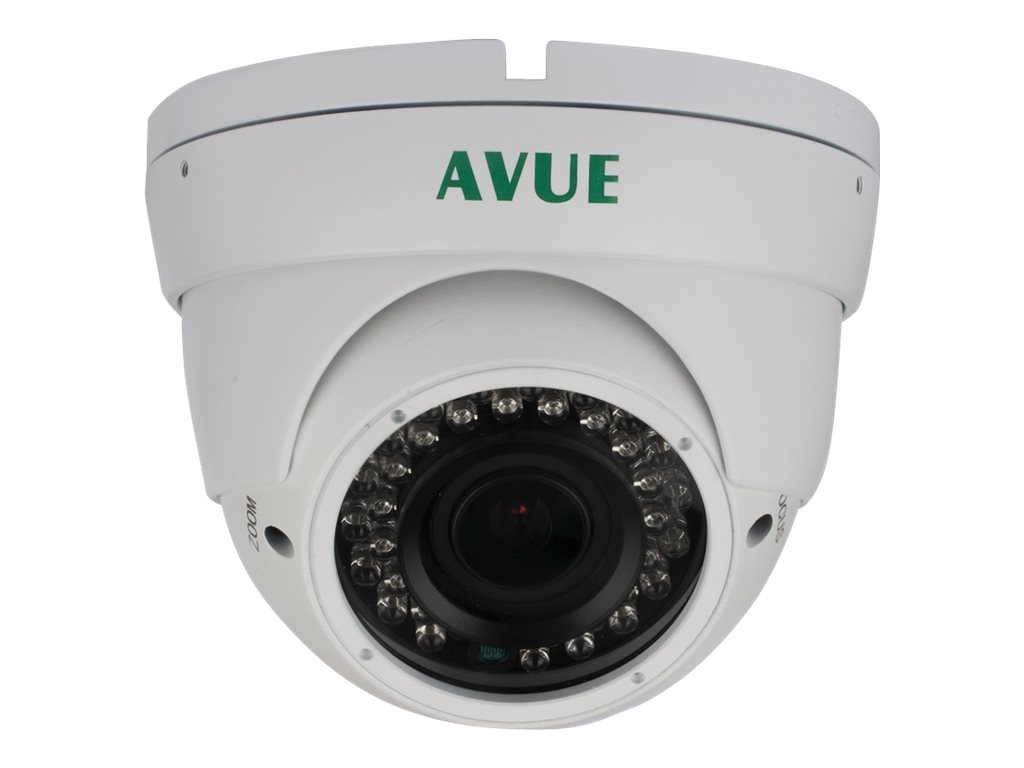 Avue 1000 TVL Day Night Dome CCTV Camera with 2.8-12mm Lens and OSD, AV676PIRW