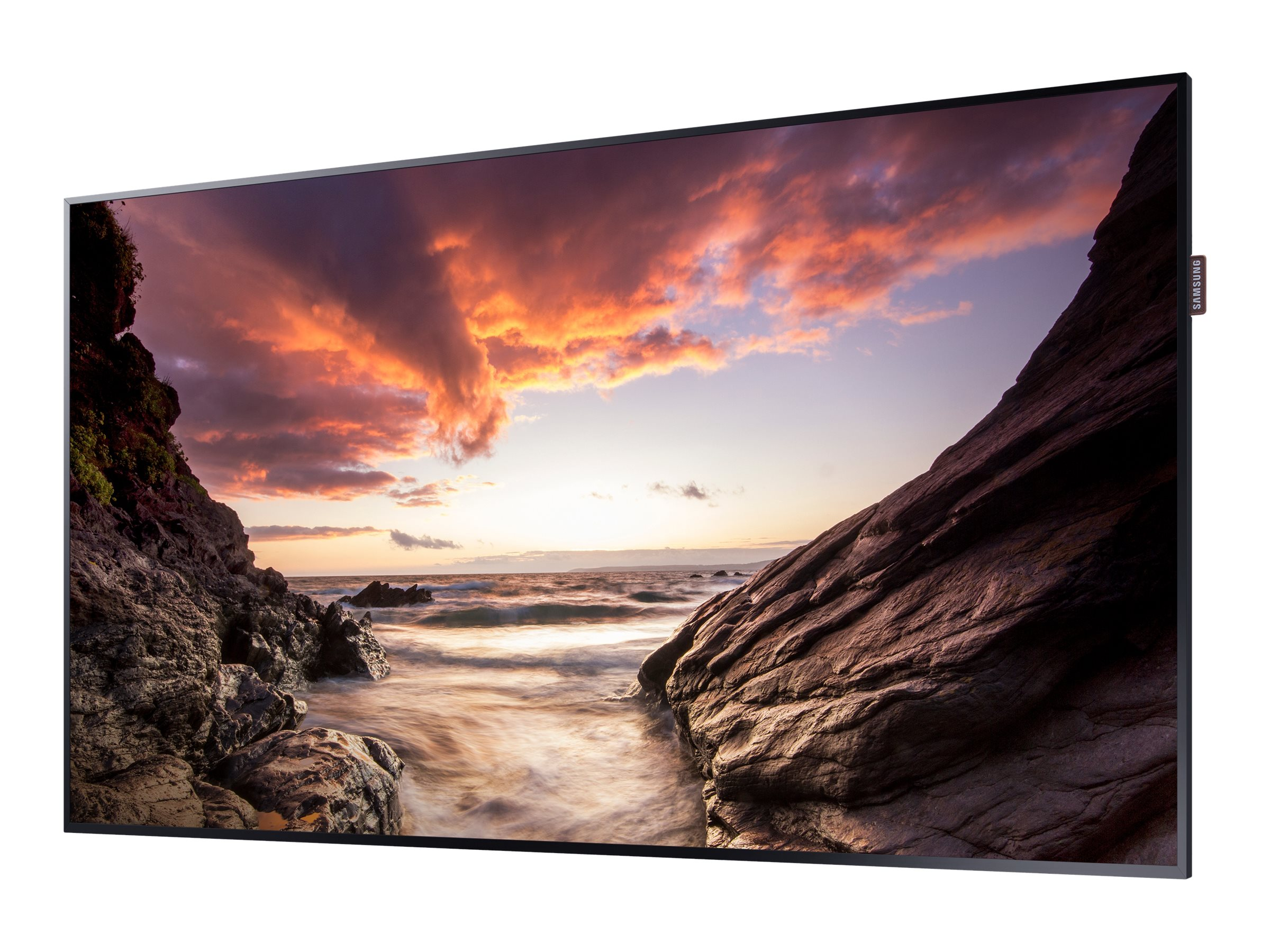Samsung 55 PHF Full HD LED-LCD Display, Black, PH55F