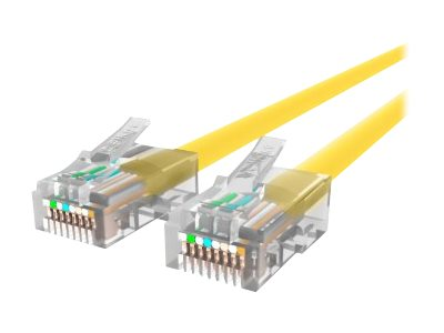 Belkin Cat5e Non-Booted UTP Patch Cable, Yellow, 12ft