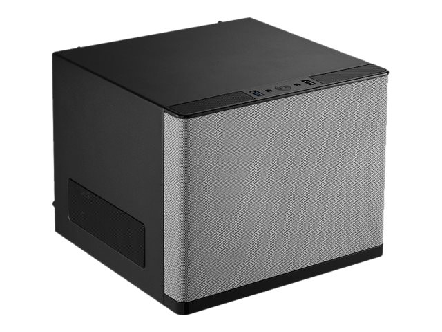 Rosewill Chassis, Legacy V6-S Cube Mini-ITX 4x3.5 Bays 2xSlots 1xFan, Silver, LEGACY V6-S, 16896091, Cases - Systems/Servers
