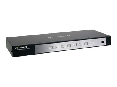 IOGEAR 8-Port HDMI Switcher 1080P, GHSW8181