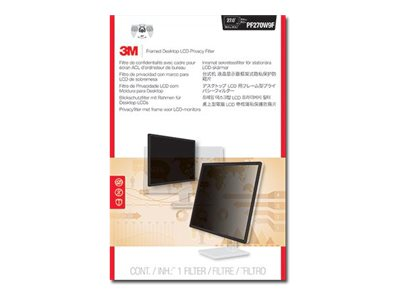3M Privacy Filter for 18.5 Widescreen Displays, PF185W9F