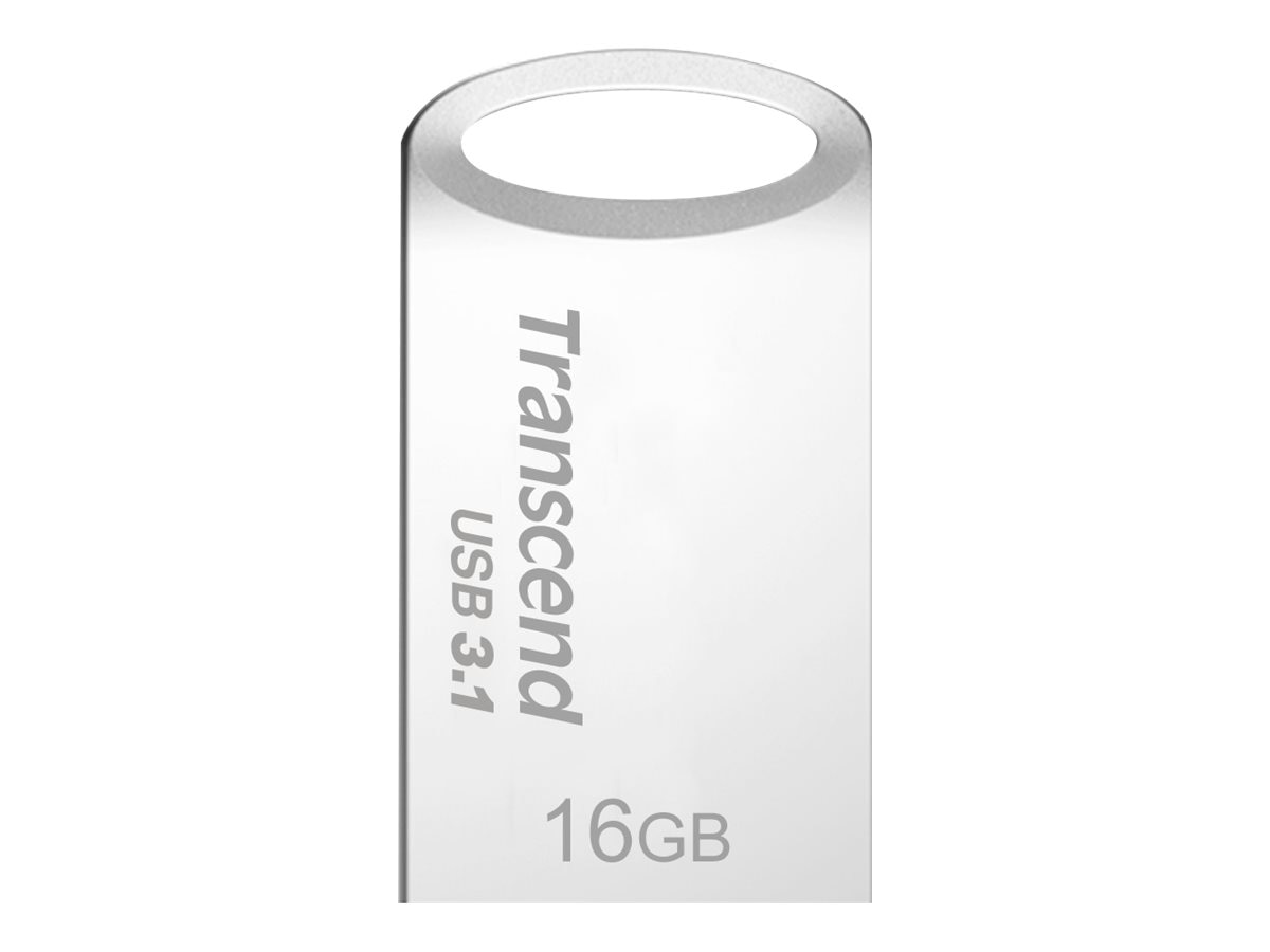 Transcend 16GB JetFlash 710 USB 3.0 Flash Drive, Silver