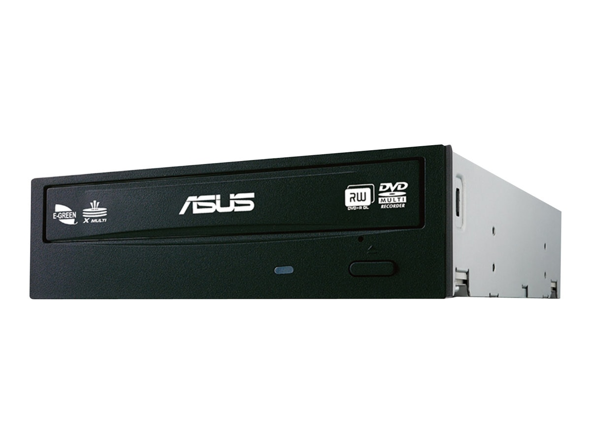 Asus 24x Multi DVDRW E-Green W8 Internal Drive (Bulk), DRW-24F1STBLKBASBULK, 30635120, DVD Drives - Internal