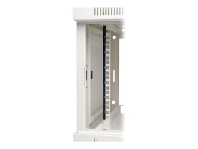 Tripp Lite SmartRack 6U Wall-Mount Rack Enclosure Cabinet, White, SRW6UW