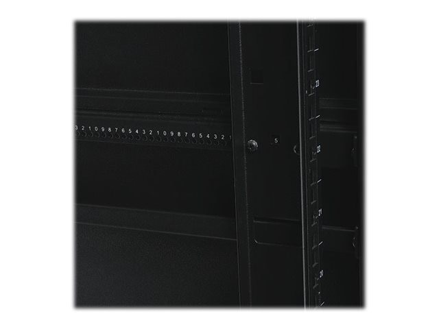 Tripp Lite 42U SmartRack Shallow Depth Premium Enclosure, 10-32 Threaded Mounting Holes, Sides and Doors, SR42UBSD1032