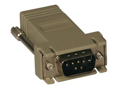 Tripp Lite Straight Through Adapter RJ-45 DB9 (M) for Console Servers, B090-A9M, 9996511, Adapters & Port Converters