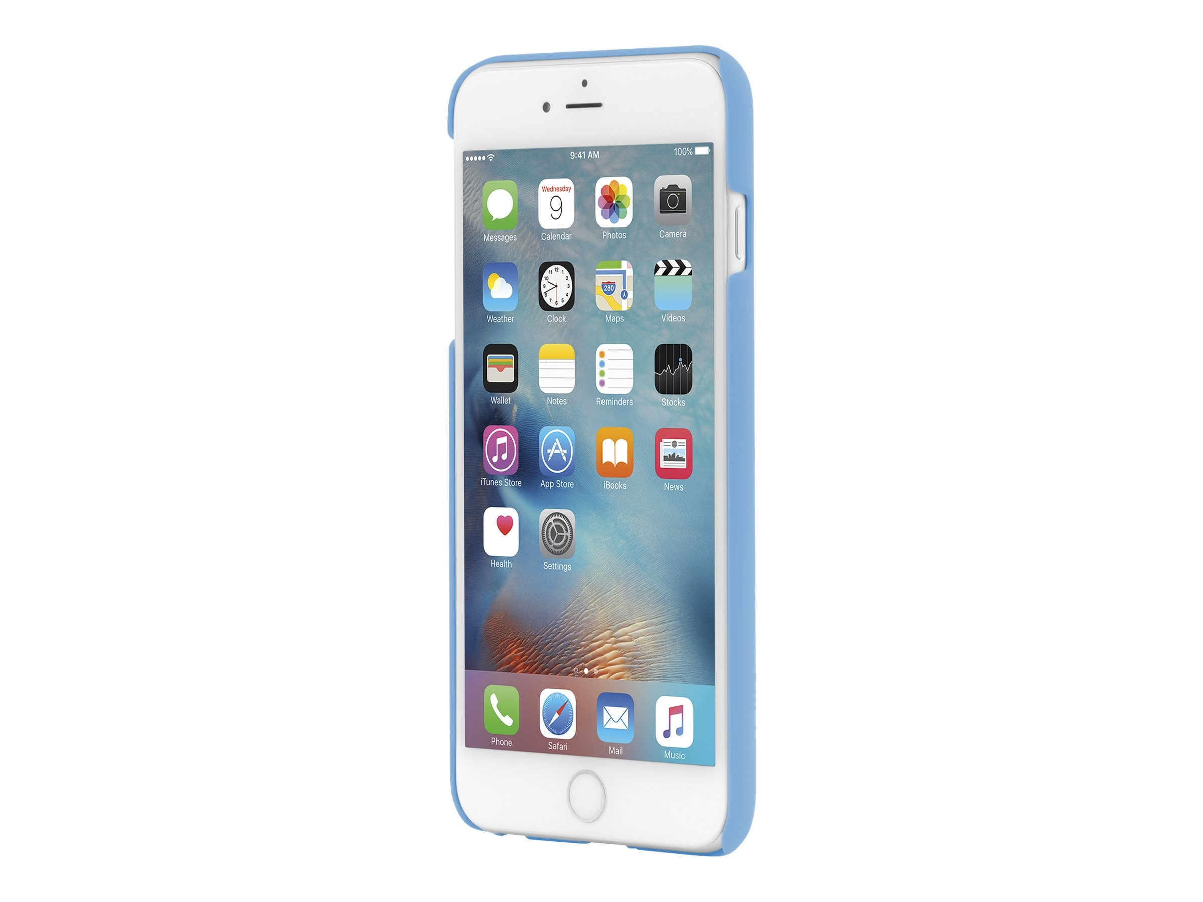 Incipio Feather Ultra Thin Snap-On Case for iPhone 6 Plus, Light Blue