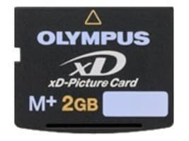 Olympus 2GB xD Picture Card, Type M+, 202332, 10540617, Memory - Flash