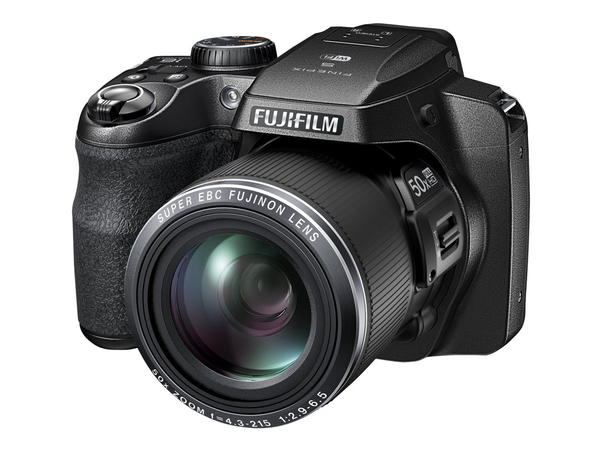 Fujifilm FinePix S9900W Digital Camera, 16.2MP, 50x Zoom, Black, 16452839, 18483899, Cameras - Digital - Point & Shoot