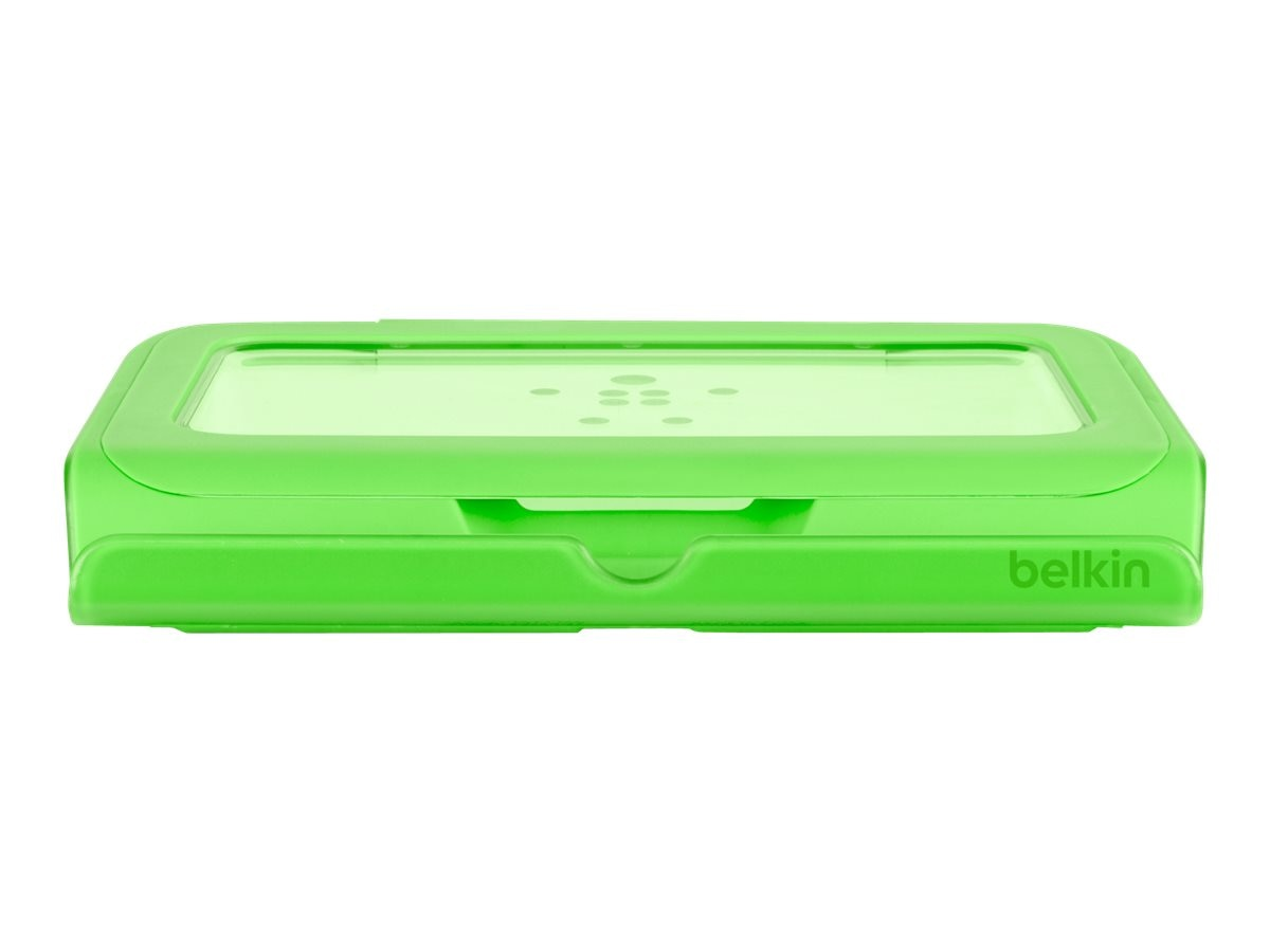 Belkin Storage Tablet Stand, Green Green, B2B027-01, 14733571, Stands & Mounts - AV