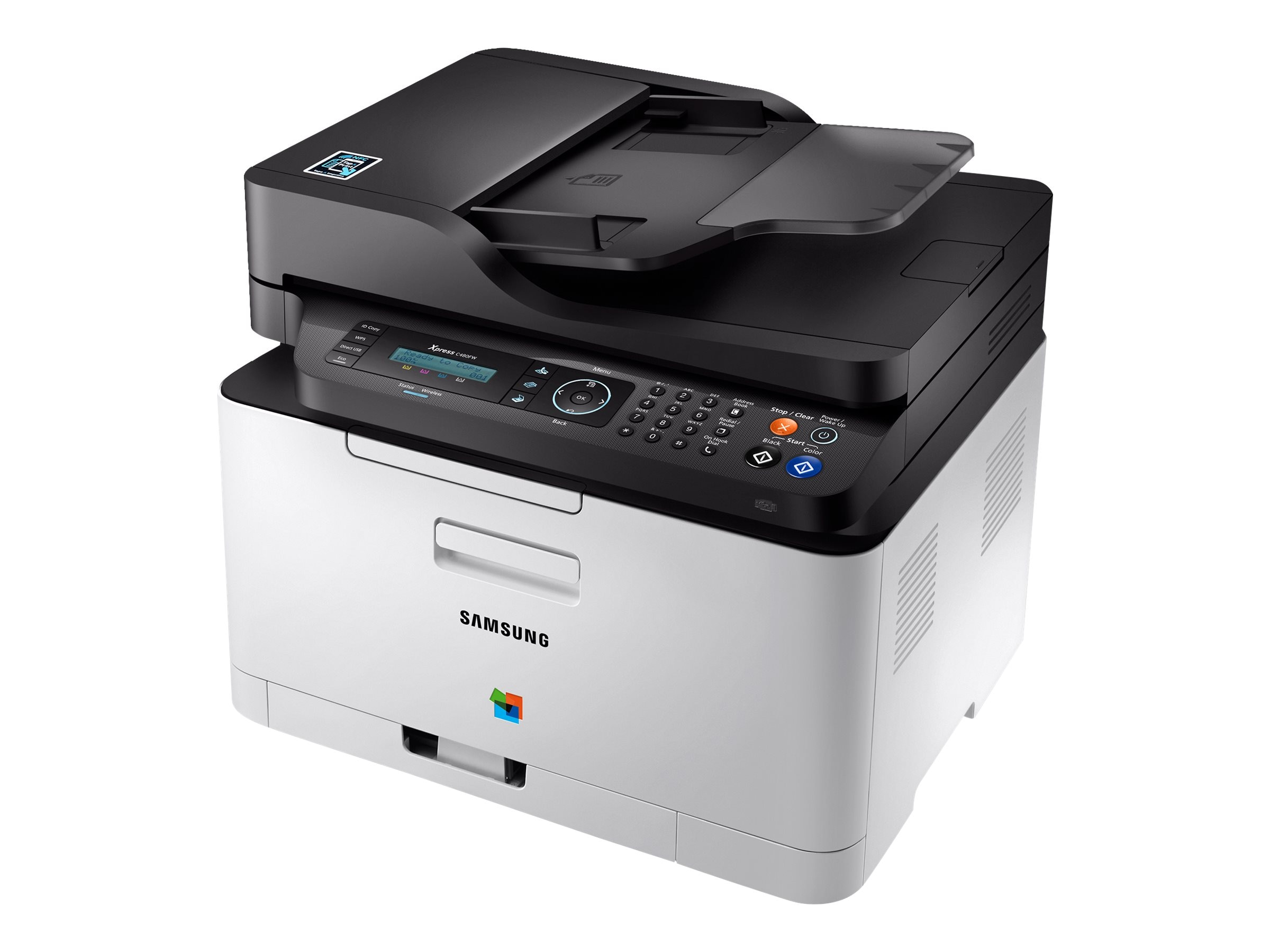 Samsung Multifunction Xpress C480FW, SL-C480FW/XAA, 31397303, MultiFunction - Laser (color)