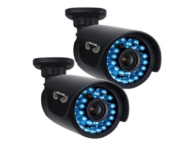 Night Owl 720p HD Bullet Camera with Night Vision, 2-Pack