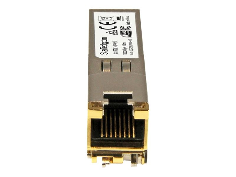 StarTech.com Gigabit RJ-45 Copper SFP Transceiver Module for HP - 10-pack, J8177C10PKST