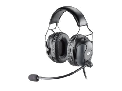 Plantronics Dual Ear Premium Monoaural Headset, 92638-01