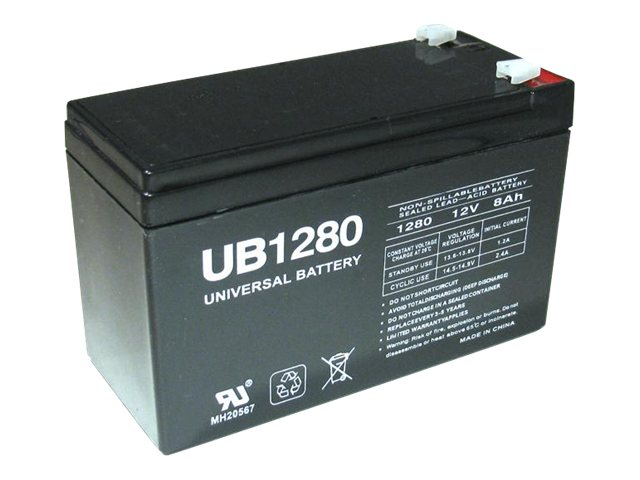 Ereplacements SLA Battery, UB1280-F2-ER, 16146397, Batteries - Other