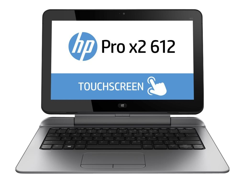 HP Pro x2 612 G1 1.6GHz processor Windows 8.1 Pro 64-bit, K4K88UA#ABA