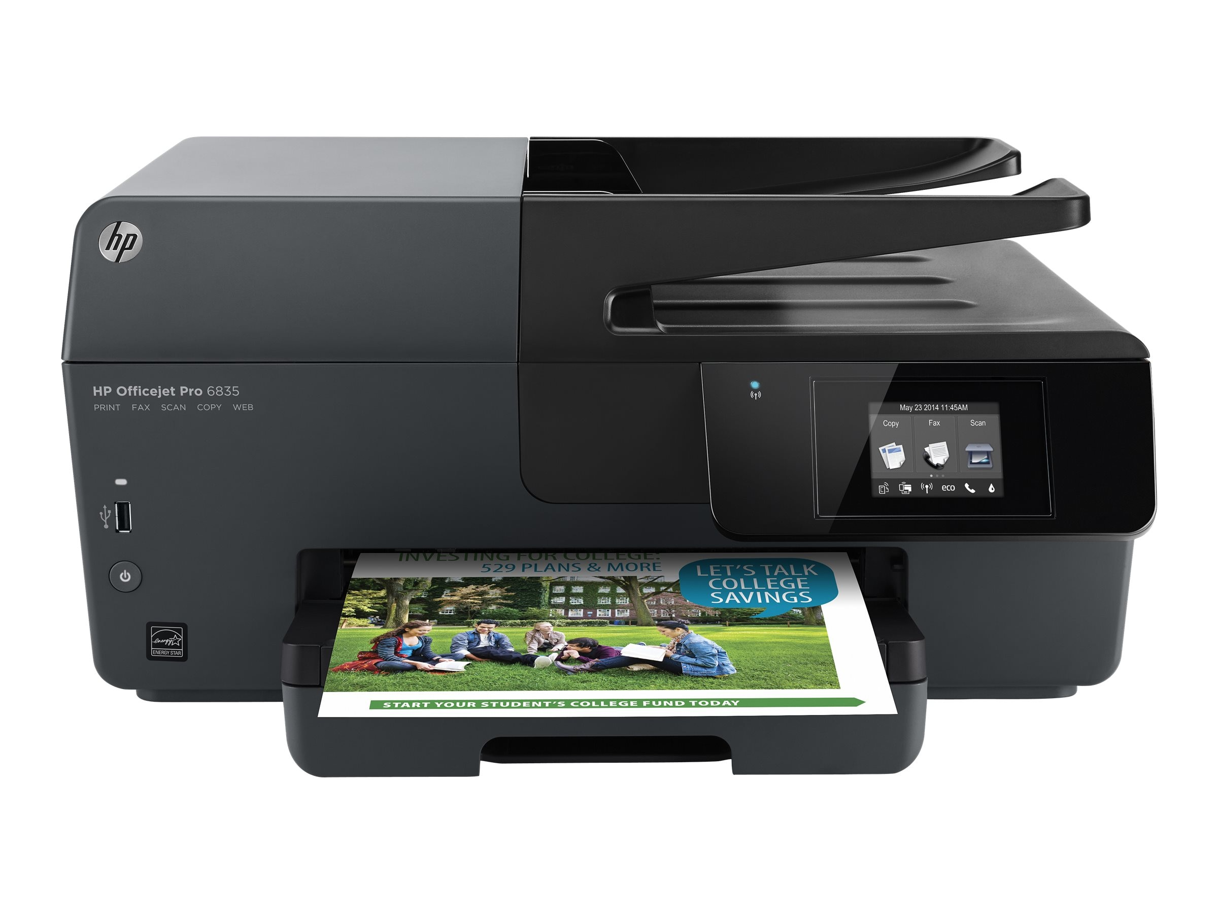HP Officejet Pro 6835 e-All-In-One Printer, J2D37A#1H3, 31397320, MultiFunction - Ink-Jet