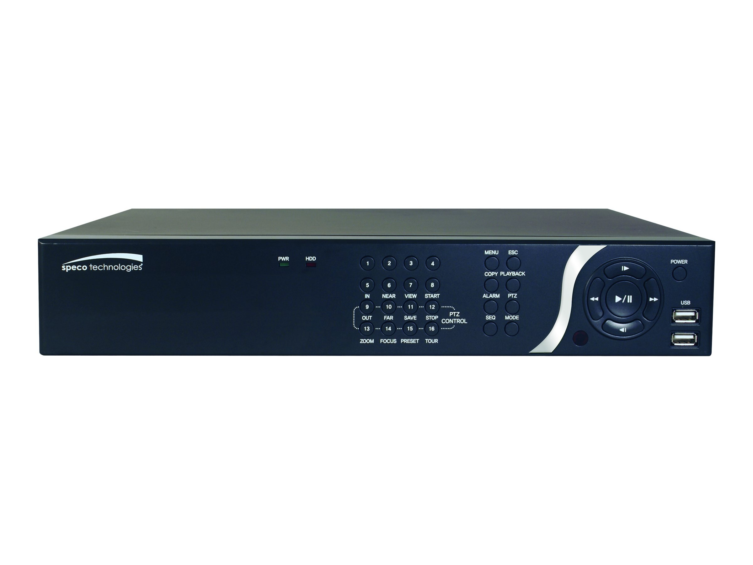 Speco 8-Channel NVR with Digital Deterrent, 2TB, N8NS2TB, 17425460, Video Capture Hardware
