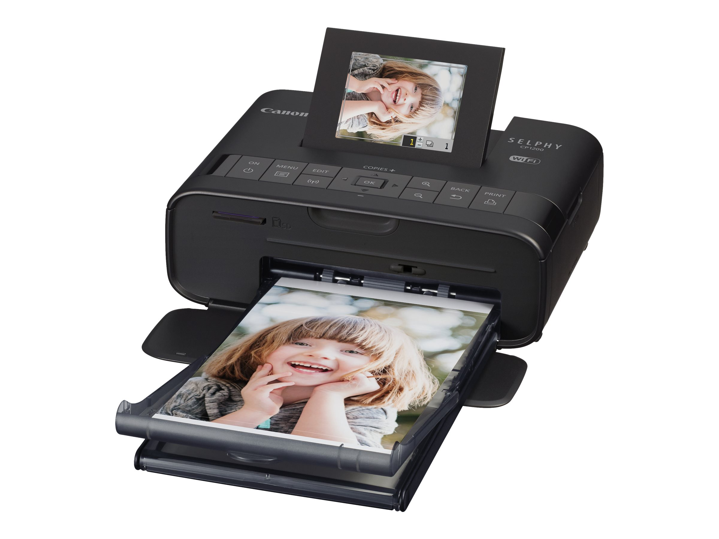Canon SELPHY CP1200 Compact Photo Printer, 0599C001, 31446494, Printers - Photo