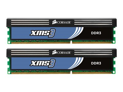 Corsair 4GB PC3-12800 240-pin DDR3 SDRAM UDIMM Kit, CMX4GX3M2B1600C9
