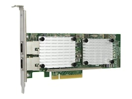 Qlogic 2-Port PCIe 3 to 10GbE BASE-T Adapter, QLE3442-RJ-BK, 22615591, Network Adapters & NICs