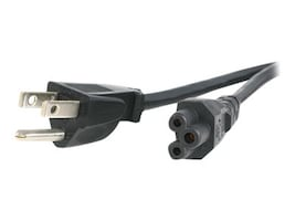 StarTech.com Standard Laptop Power Cord, NEMA 5-15P to C5, 6ft, PXT101NB3S, 17860074, Power Cords