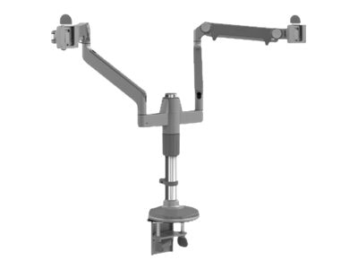 Humanscale Mflex Monitor Arm, Silver, MF22S11C12, 15920694, Stands & Mounts - AV