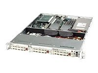Supermicro Chassis, 1U, SC812S-420C, Dual Xeon Opteron, EATX, 3 1 HS U320 Bays, 420W PS, Beige, CSE-812S-420C, 6676095, Cases - Systems/Servers