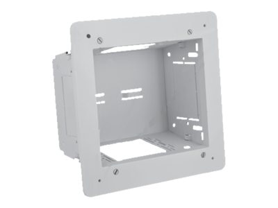Hubbell 2-Gang In-wall Enclosure, White, NSAV62M