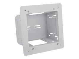 Hubbell 2-Gang In-wall Enclosure, White, NSAV62M, 32414734, Premise Wiring Equipment