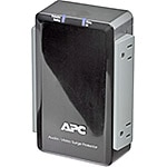 APC Audio Video Surge Protector, Coaxial Protection (4) Outlets for Wall