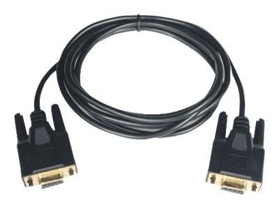Tripp Lite Null Modem Cable DB9F to DB9F,  Gold, 6ft., P450-006, 4900840, Cables