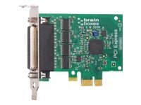 Brainboxes LP PCIe 4XRS232 1MB Controller, PX-260, 14488692, Controller Cards & I/O Boards