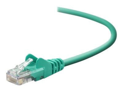 Belkin Cat5e Patch Cable, Snagless, Green, 10ft, A3L791-10-GRN-S