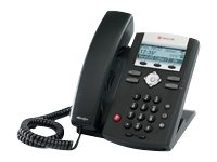 Polycom SoundPoint IP 335, 2-Line SIP Phone with Polycom HD Voice, 2200-12375-025, 10743300, VoIP Phones