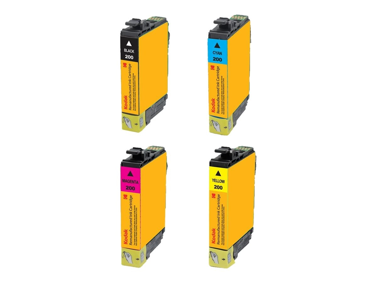 Kodak T200COMBO Ink Cartridge Combo Pack for Epson Expression, T200COMBO-KD