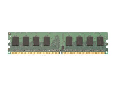 Crucial 512MB PC2-5300 240-pin DDR2 SDRAM DIMM, CT6464AA667, 8457371, Memory