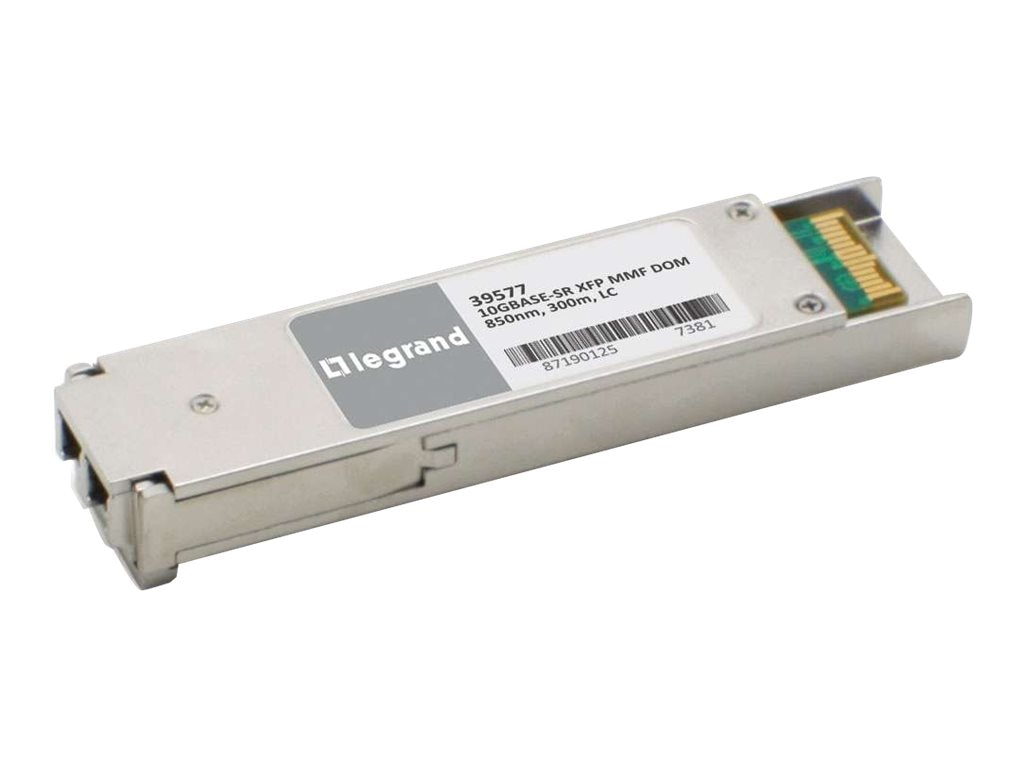 C2G FORCE10 GP-XFP-1S Transceiver Module 10GBASE-SR, 39577, 16946511, Network Transceivers