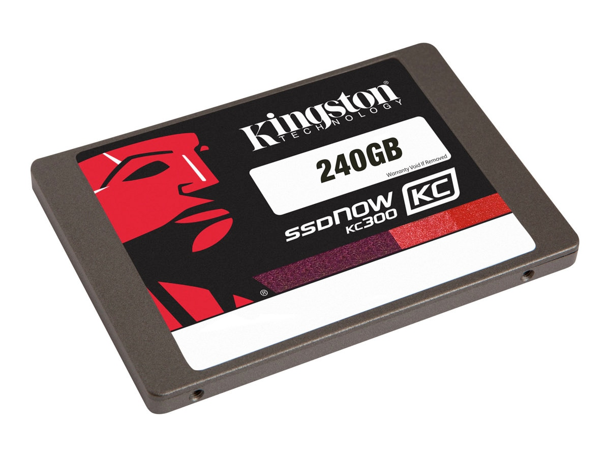 Kingston 240GB SSDNow KC300 SATA 6Gb s 2.5 Internal Solid State Drive, SKC300S37A/240G, 15657785, Solid State Drives - Internal