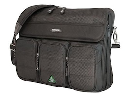 Mobile Edge ScanFast Messenger Bag, Holds 15.4 Laptop, Black, MESFMB, 8896403, Carrying Cases - Notebook