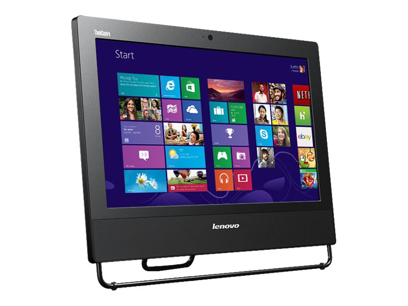 Lenovo ThinkCentre M73z AIO Core i3-4150 3.5GHz 4GB 500GB DVD bgn BT WC 20 HD+ W7P64-W8.1P, 10BBA0JJUS