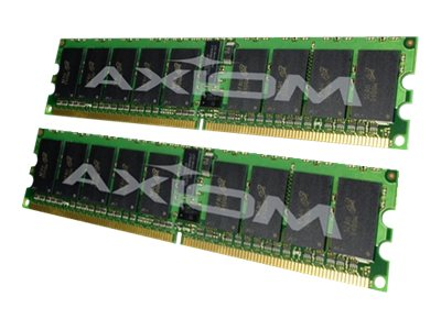 Axiom 4GB PC2-5300 DDR2 SDRAM RDIMM Kit, TAA, AXG16491054/2