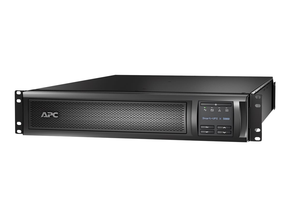 APC Smart-UPS X 3000VA 100-127V 2U Rack Tower LCD, Extended Runtime Model, SMX3000RMLV2U, 10336106, Battery Backup/UPS