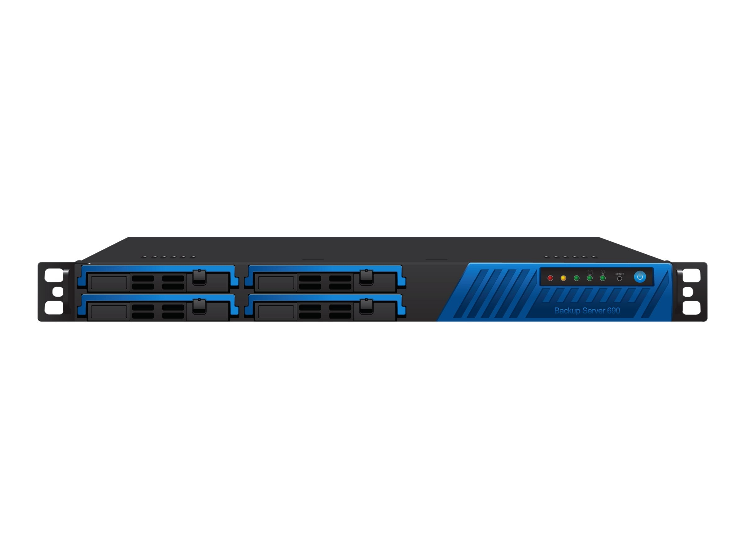 Barracuda Backup Server Model 690 w  3-year Energize Updates, BBS690A3, 12837967, Disk-Based Backup