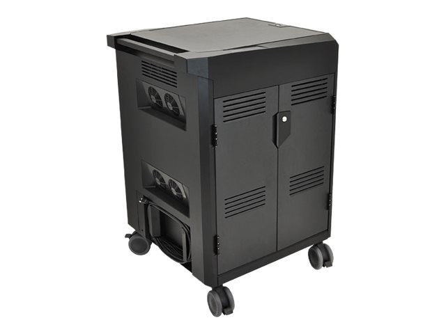 Open Box Ergotron PowerShuttle Tablet Charging Cart, 24-302-085, 31140840, Computer Carts